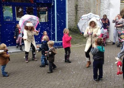 Snow Elves in Causewayhead